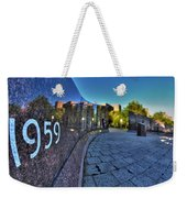 002 We Will Not Forget At The Erie Basin Marina Weekender Tote Bag