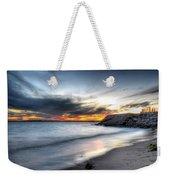 0020 Awe In One Sunset Series At Erie Basin Marina Weekender Tote Bag