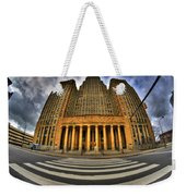 0021 Approaching Our City Hall Weekender Tote Bag