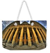 0022 Admiring The Architecture Of Our City Hall Weekender Tote Bag