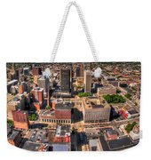 0023a Visual Highs Of The Queen City Weekender Tote Bag