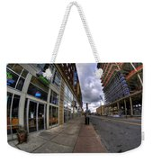 0024 The Edible Side Of The Chipp Stripp Weekender Tote Bag