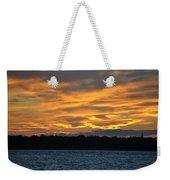 003 Awe In One Sunset Series At Erie Basin Marina Weekender Tote Bag