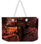 003 Christmas Light Show At Roswell Series Weekender Tote Bag
