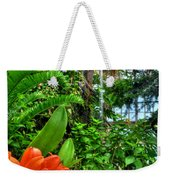 003 Falling Waters Buffalo Botanical Gardens Series Weekender Tote Bag