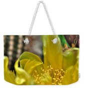 003 For The Cactus Lover In You Buffalo Botanical Gardens Series Weekender Tote Bag
