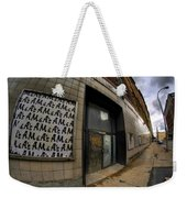 0034 Throwback Shopping Center Of Am And As Weekender Tote Bag