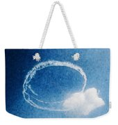 0036 - Air Show - Watercolor Weekender Tote Bag
