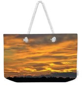 004 Awe In One Sunset Series At Erie Basin Marina Weekender Tote Bag