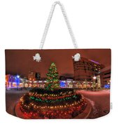 004 Christmas Light Show At Roswell Series Weekender Tote Bag