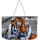 004 Siberian Tiger Weekender Tote Bag