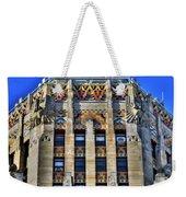 0049 Art Deco City Hall Weekender Tote Bag