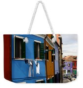 0049 Burano Colors 4 Weekender Tote Bag