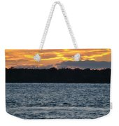 005 Awe In One Sunset Series At Erie Basin Marina Weekender Tote Bag
