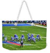005 Buffalo Bills Vs Jets 30dec12 Weekender Tote Bag