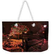 005 Christmas Light Show At Roswell Series Weekender Tote Bag