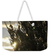 005 Peaking Winter Sunrise Weekender Tote Bag
