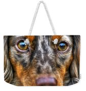 0054 Puppy Dog Eyes Weekender Tote Bag