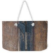 0056-door Weekender Tote Bag