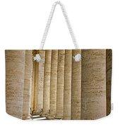 0056 Roman Pillars St. Peter's Basilica Rome Weekender Tote Bag