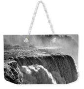 005a Niagara Falls Winter Wonderland Series Weekender Tote Bag