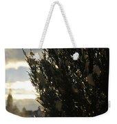 006 Peaking Winter Sunrise Weekender Tote Bag