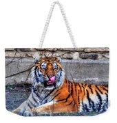 006 Siberian Tiger Weekender Tote Bag