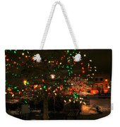 007 Christmas Light Show At Roswell Series Weekender Tote Bag
