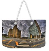 007 City Hall And The Court House Weekender Tote Bag