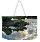 007 Delaware Park Japanese Garden Mirror Lake Series Weekender Tote Bag