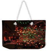 008 Christmas Light Show At Roswell Series Weekender Tote Bag