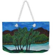 008 Landscape Weekender Tote Bag
