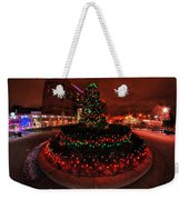 009 Christmas Light Show At Roswell Series Weekender Tote Bag