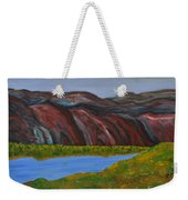 009 Landscape Weekender Tote Bag