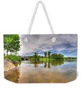 01 Reflecting At Hoyt Lake Series Weekender Tote Bag