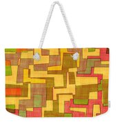 0101 Abstract Thought Weekender Tote Bag