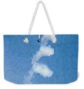 0107 - Air Show - Pastel Chalk 2 Hp Weekender Tote Bag