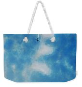 0107 - Air Show - Traveling Pigments Hp Weekender Tote Bag