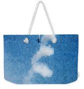 0107 - Air Show - Watercolor 1 Weekender Tote Bag