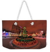 012 Christmas Light Show At Roswell Series Weekender Tote Bag