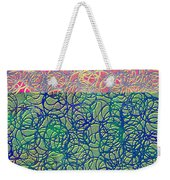 0122 Abstract Thought Weekender Tote Bag