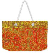 0124 Abstract Thought Weekender Tote Bag