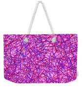0125 Abstract Thought Weekender Tote Bag