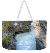 0142 Athabasca River Canyon Weekender Tote Bag