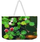 0148-lily -   Oil Stain Sl Weekender Tote Bag