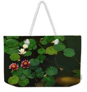0148-lily -  Colored Photo 1 Weekender Tote Bag
