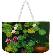 0148-lily -  Expressionist Plein Air Sl Weekender Tote Bag