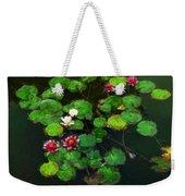 0151-lily -   Oil Stain Sl Weekender Tote Bag