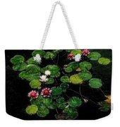 0151-lily - Embossed Sl Weekender Tote Bag