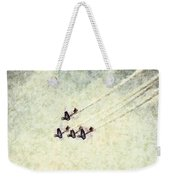 0161 - Air Show - Colored Photo 2 Hp Weekender Tote Bag